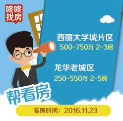 11月23日帮看房,淘房哥帮你实地看西丽大学城、龙华老城片区!