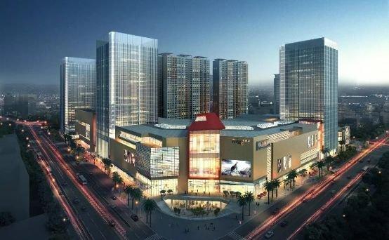 华润中心工程播报 MIXC公寓楼体外墙完工(实景)
