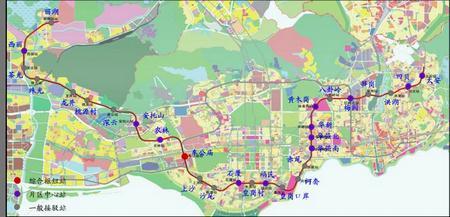 深圳10 地铁线路图 天津10地铁线路图 深圳10线地铁线路图图片