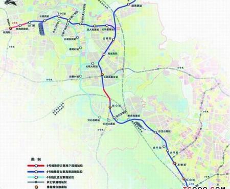 深圳地铁6号线线路图图片