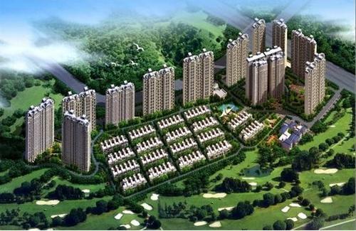 观澜碧桂园效果图-碧桂园 时代城 商住两用完美新城
