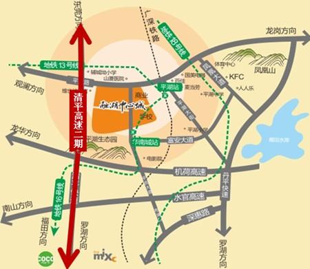 深圳地铁9号线地图